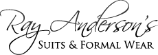 Ray Anderson's Suits & Formal Wear